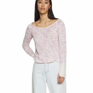 NWT We the Free thermal pull over longsleeve top